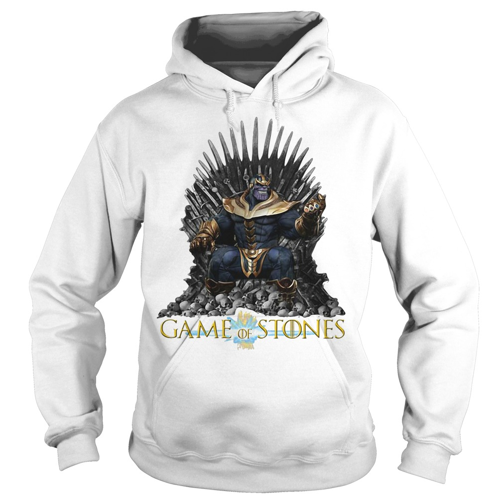 Thanos Game of Stones Hoodie