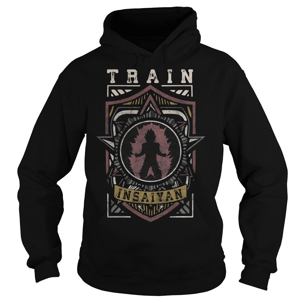 Train Insaiyan Warrior Shield Crest Hoodie