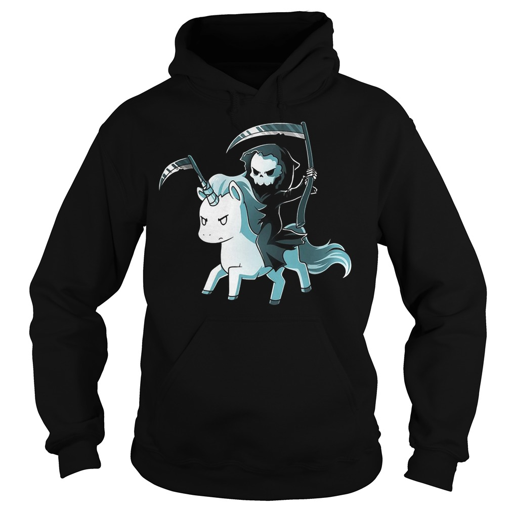 The Unicorn of Death Hoodie