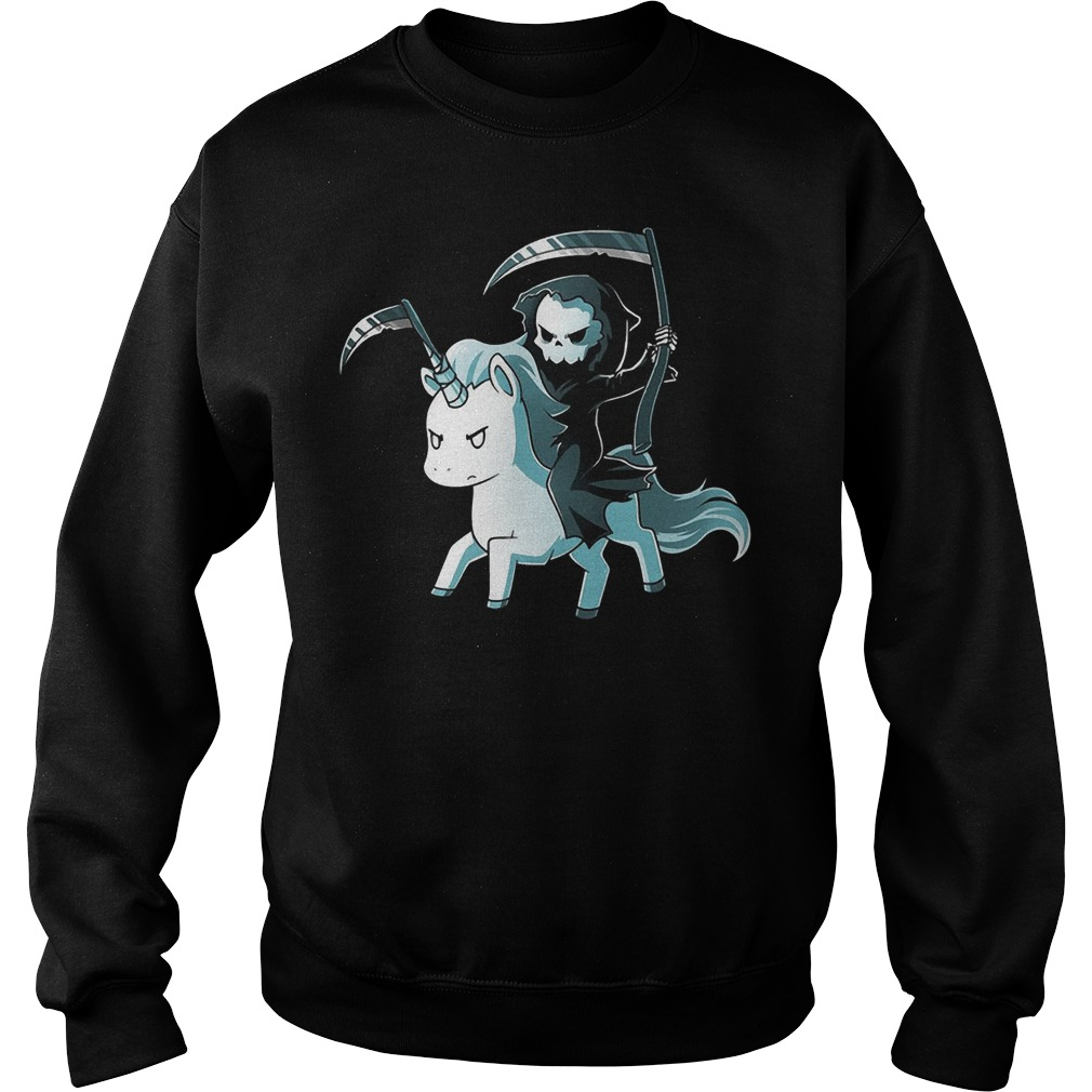 The Unicorn of Death Sweater