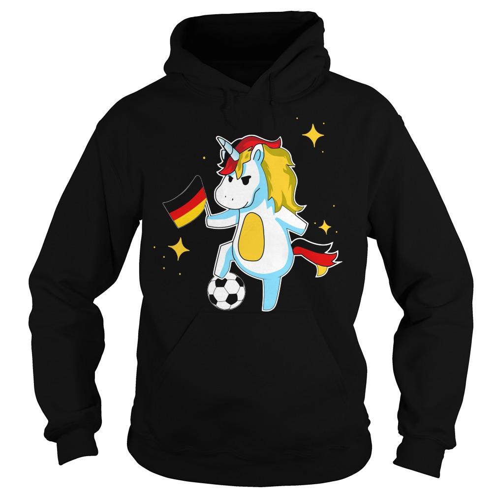 Unicorn Germany football Hoodie