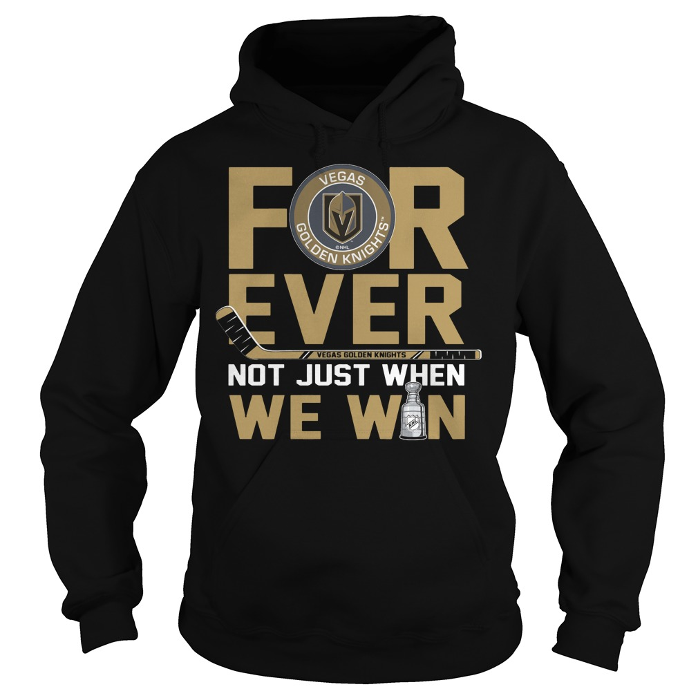 Vegas Golden Knights for ever not just when Washington Capitals Hoodie