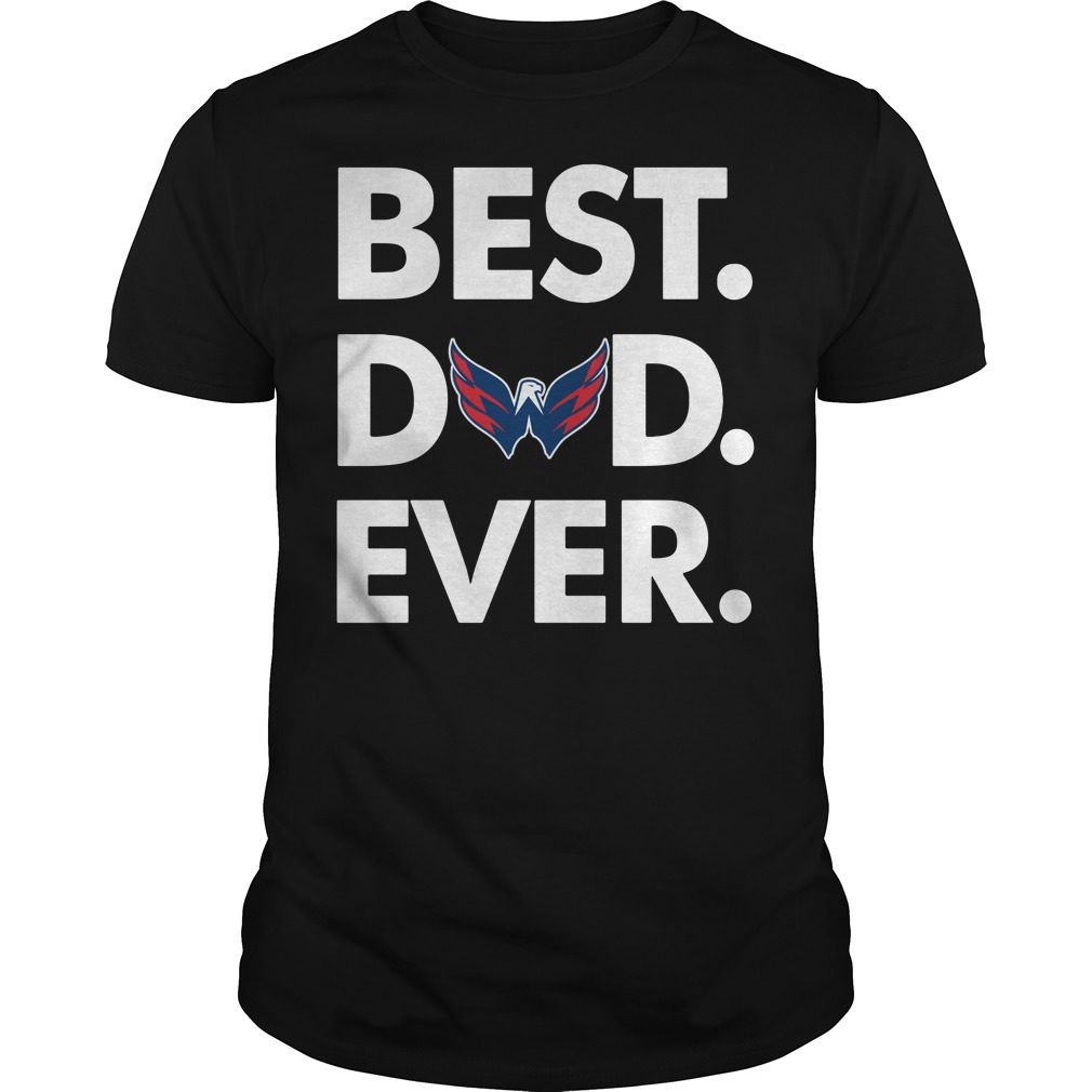 Washington Capitals Best Dad ever shirt