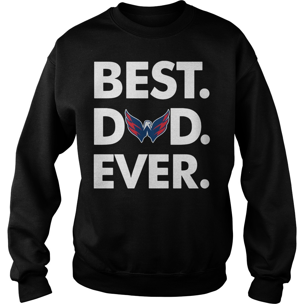 Washington Capitals Best Dad ever Sweater