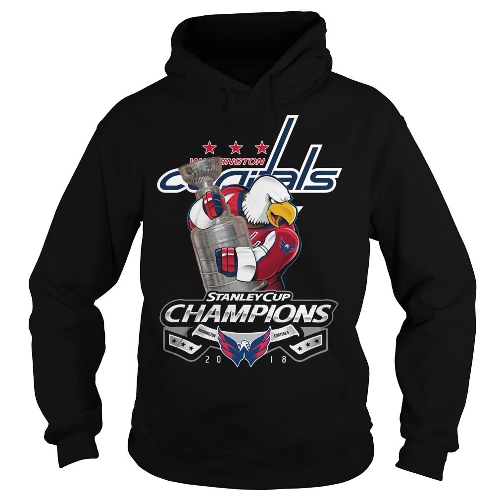 Washington Capitals Stanley Cup Champions 2018 Hoodie