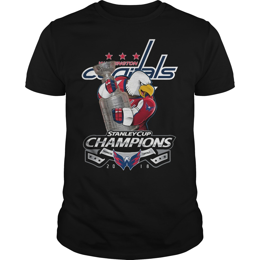 Washington Capitals Stanley Cup Champions 2018 shirt