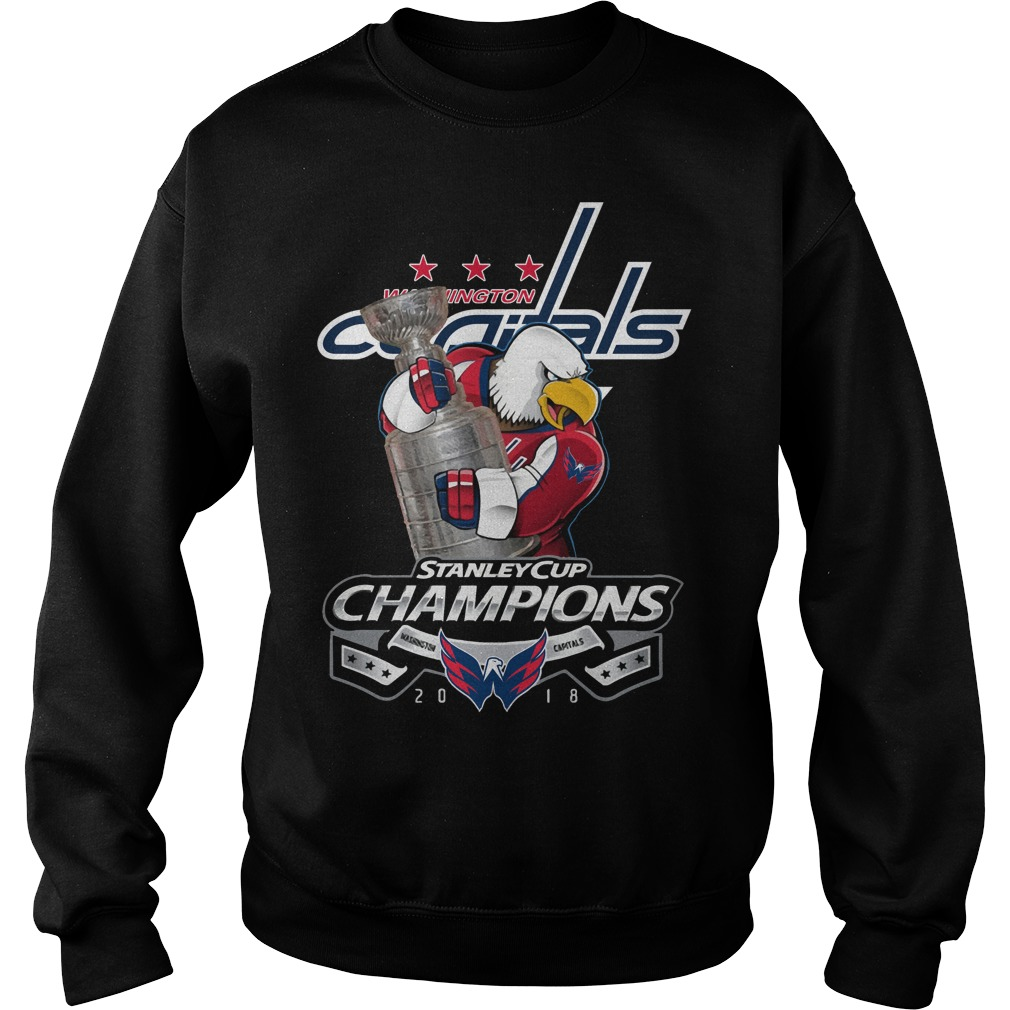 Washington Capitals Stanley Cup Champions 2018 Sweater