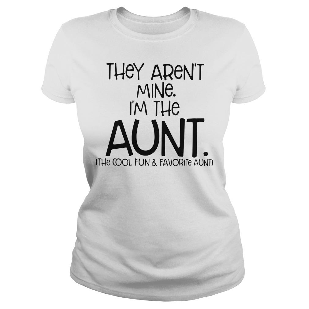 They aren't mine I'm the aunt Ladies tee