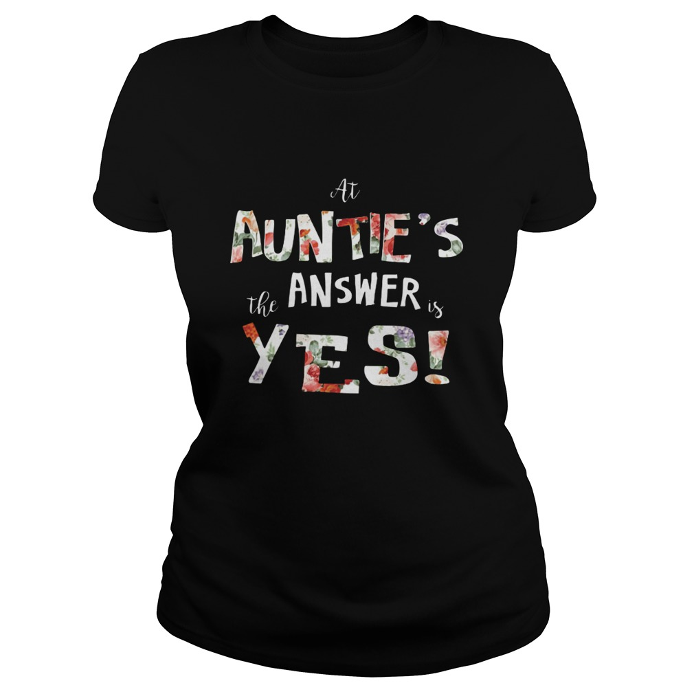 At auntie's the answer is yes Ladies tee