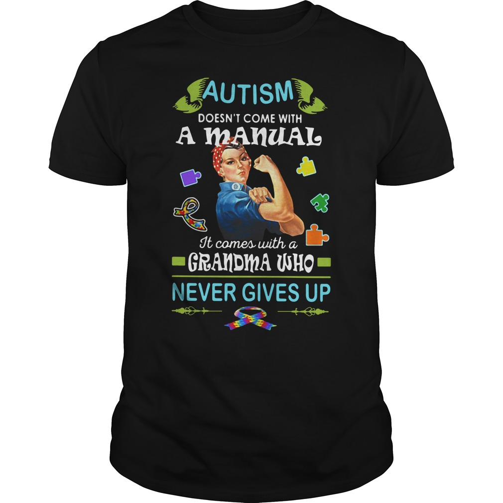 Autism doesn't come with a manual it comes Guys shirt