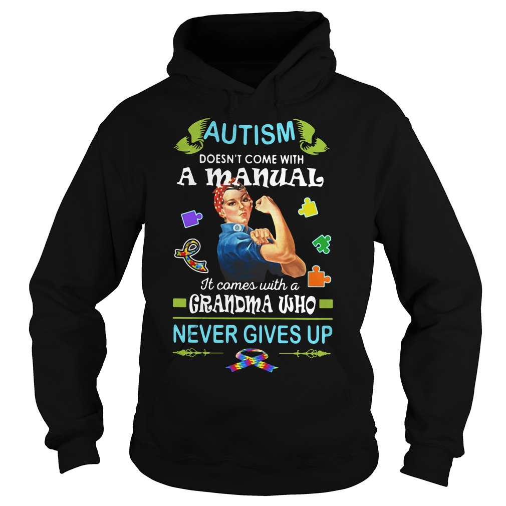 Autism doesn't come with a manual it comes Hoodie