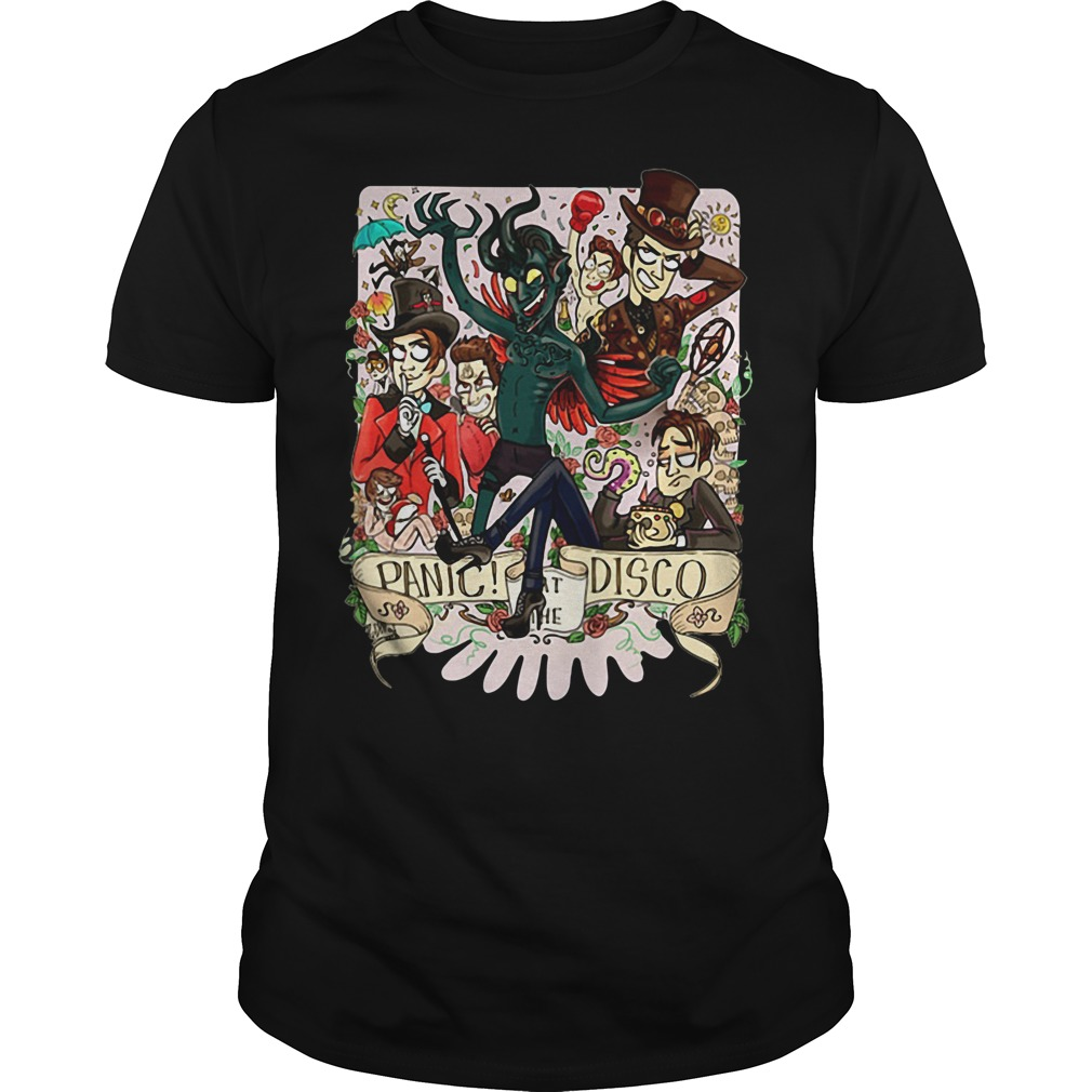 Crazy genius panic at the disco Guys shirt