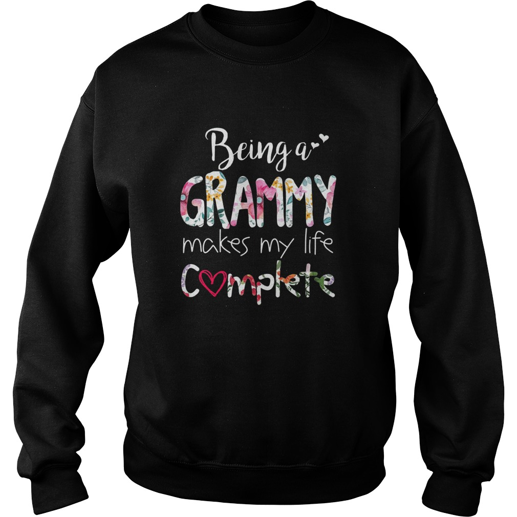 Being a grammy makes my life complete Sweater