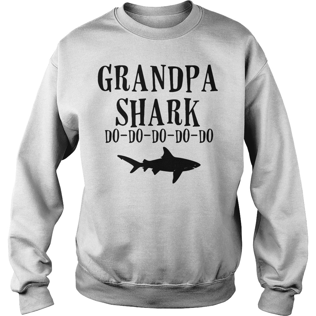 Grandpa shark do-do-do-do-do Sweater