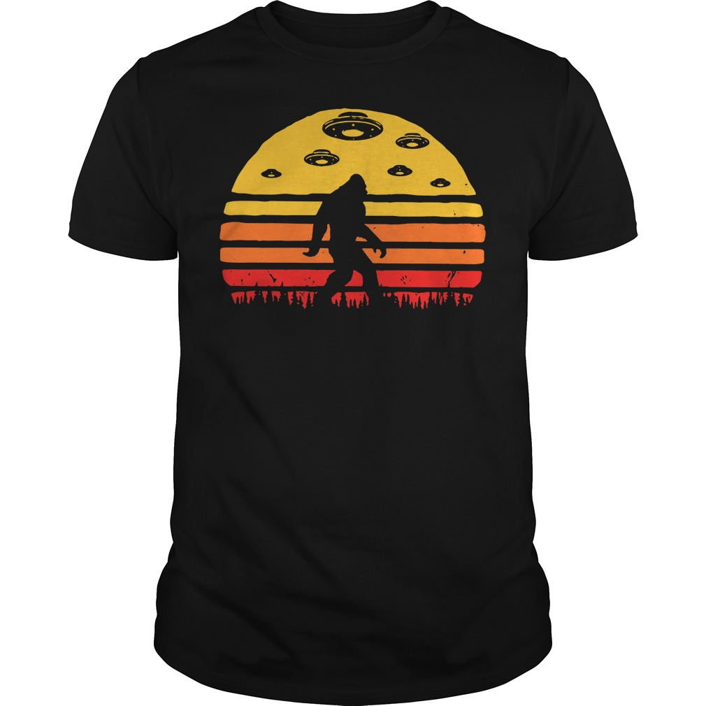 Great Deal on Kids Bigfoot UFO Abduction Guys shirt