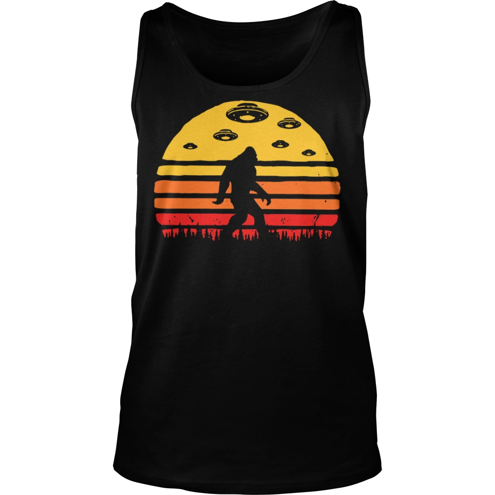 Great Deal on Kids Bigfoot UFO Abduction Tank top
