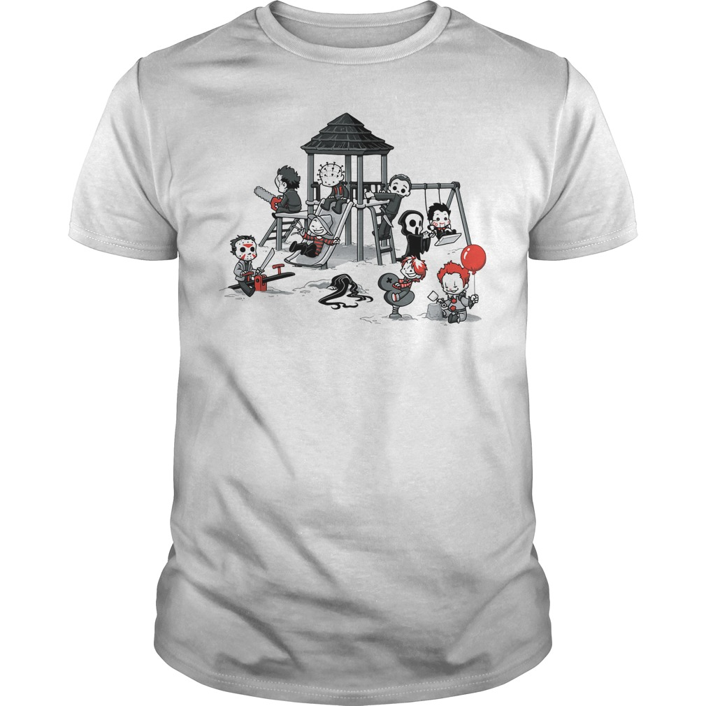 Horror Park Cute Horror Movie Villains shirt