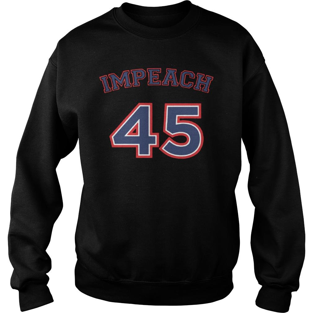 Impeach 45 Not my president Anti Trump Sweater