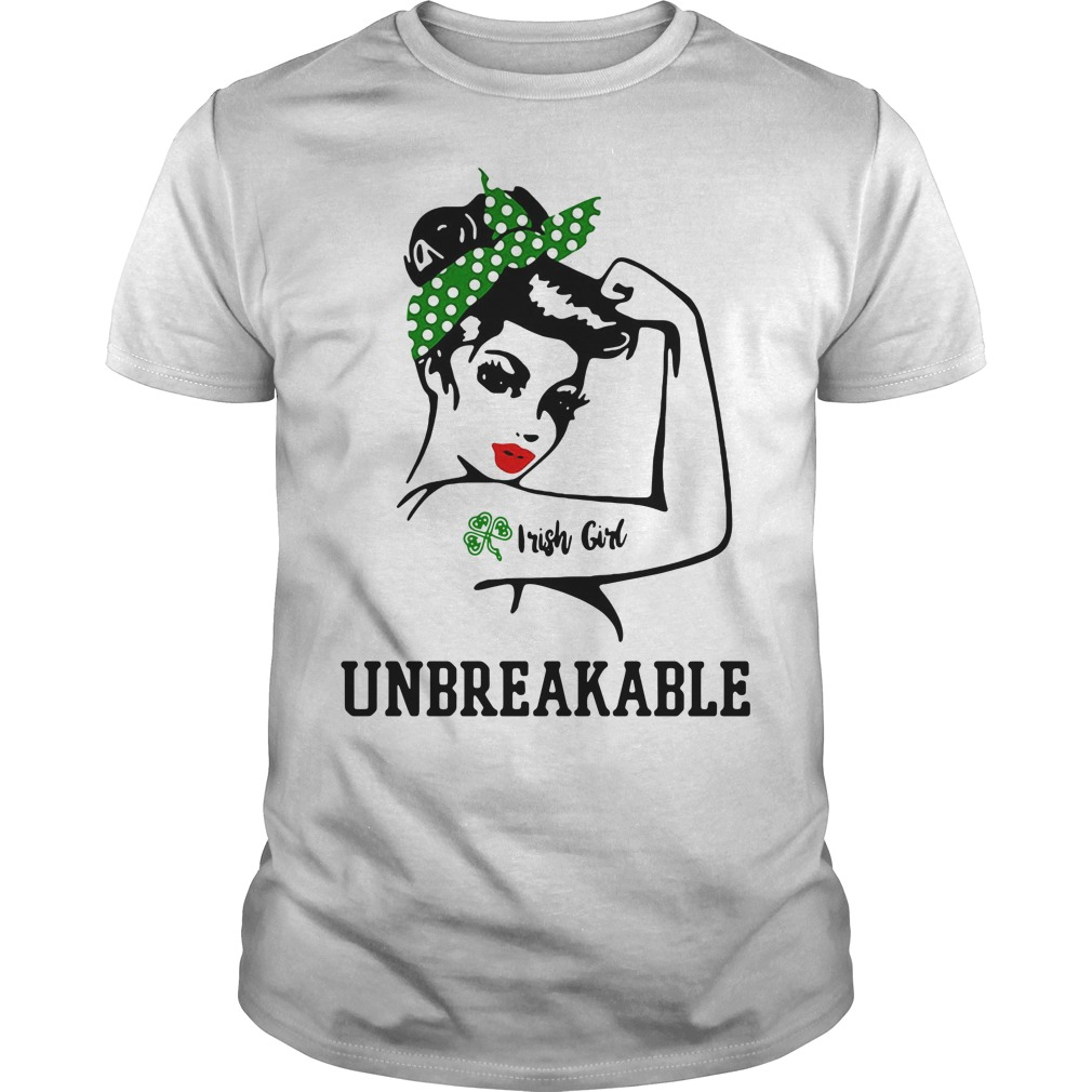 Irick girl unbreakable Guys shirt
