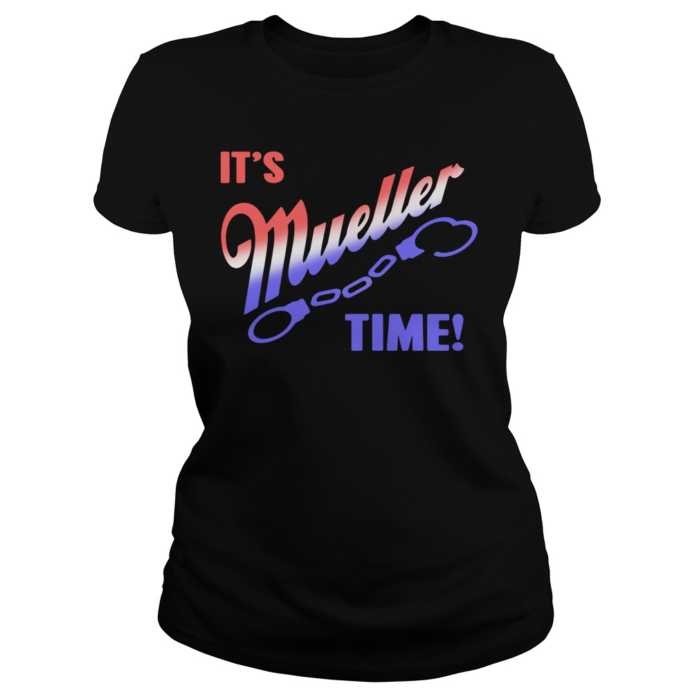 It's Mueller time Ladies tee