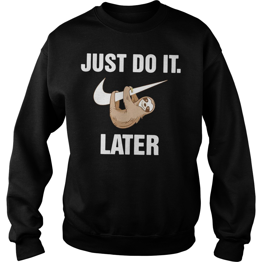Just do it monkey later Sweater