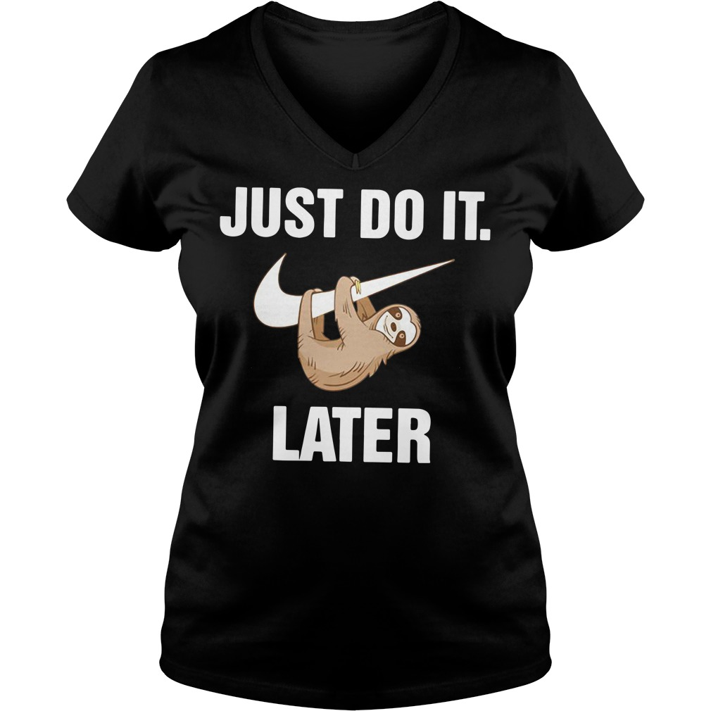 Just do it monkey later V-neck T-shirt