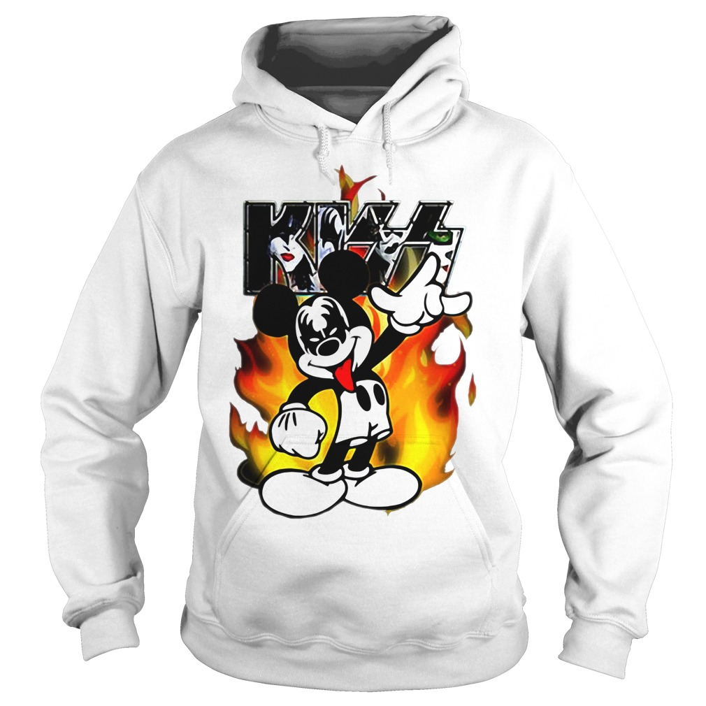Kiss mickey mouse Hoodie