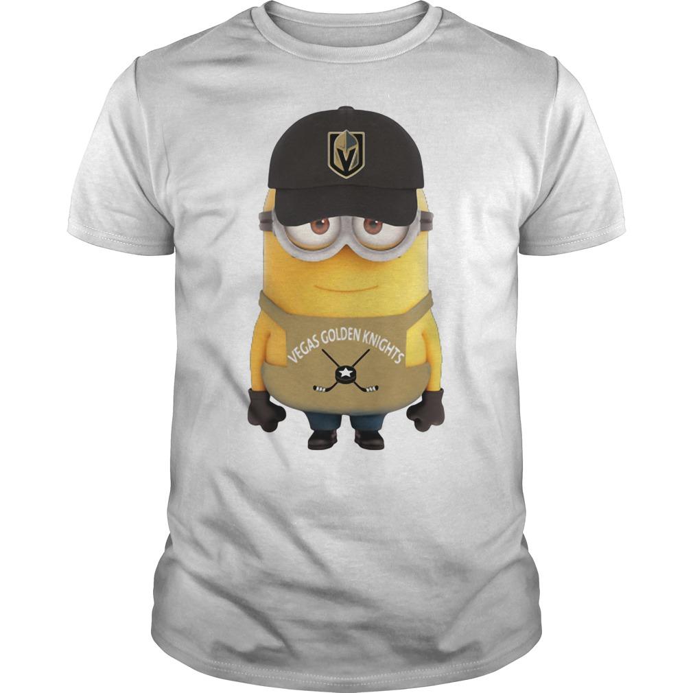 Minion Vegas Golden Knights shirt