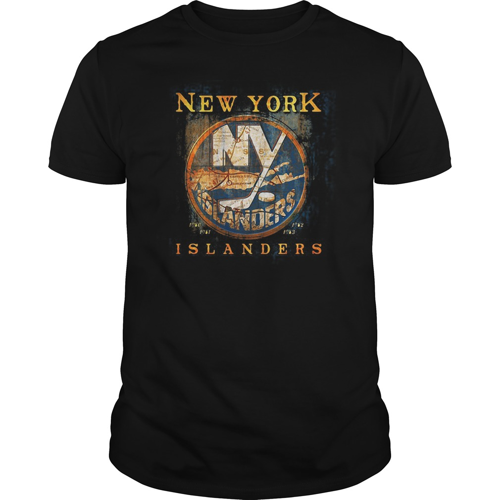 New York Islanders Map shirt