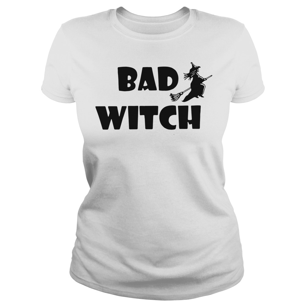 Official bad witch Ladies tee