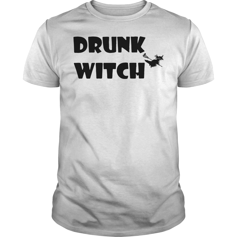 Official drunk witch Guys shirt