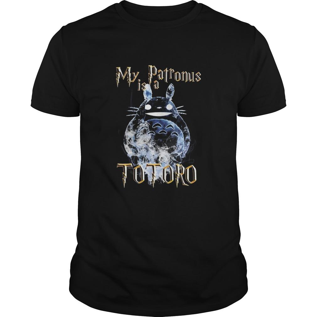 My patronus is a totoro Guys shirt