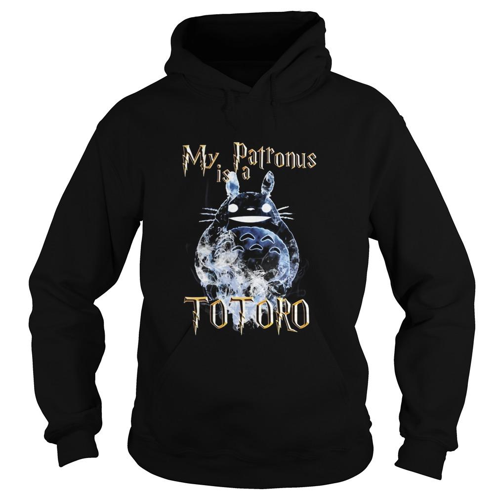My patronus is a totoro Hoodie