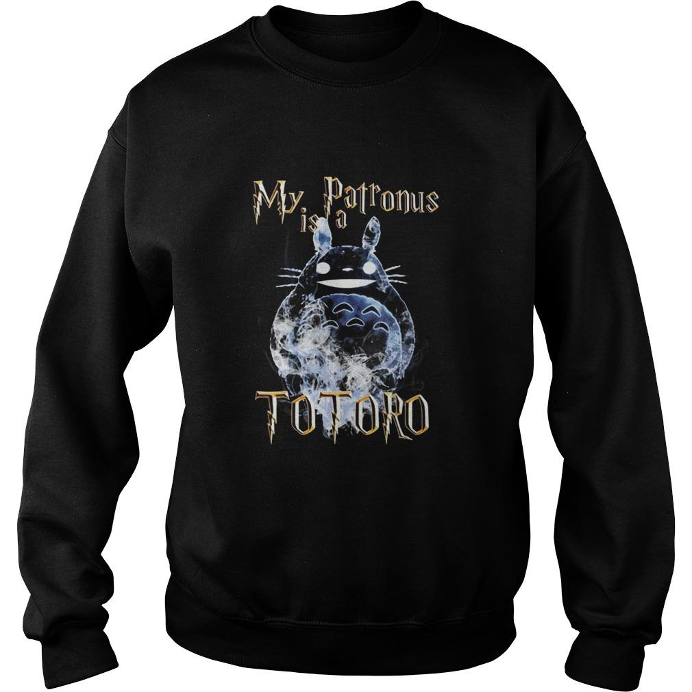 My patronus is a totoro Sweater