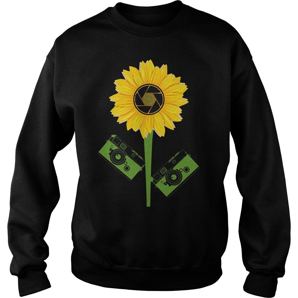 Photography Sunflower Sweater
