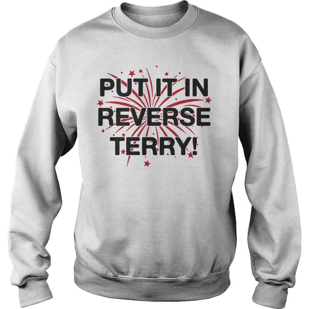 Put it in reverse terry Sweater