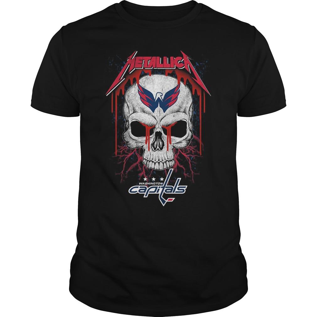 Skull Metallic Washington Capitals shirt