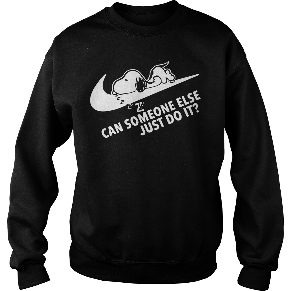 Snoopy can someone else just do it Sweater