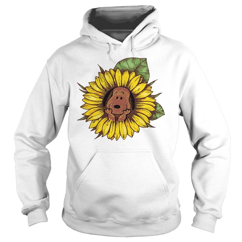 Snoopy sunflower Hoodie