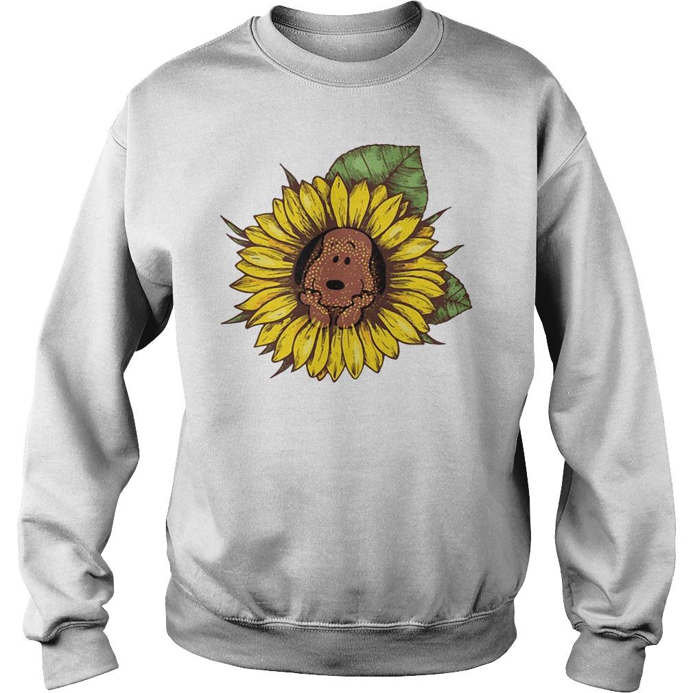 Snoopy sunflower Sweater