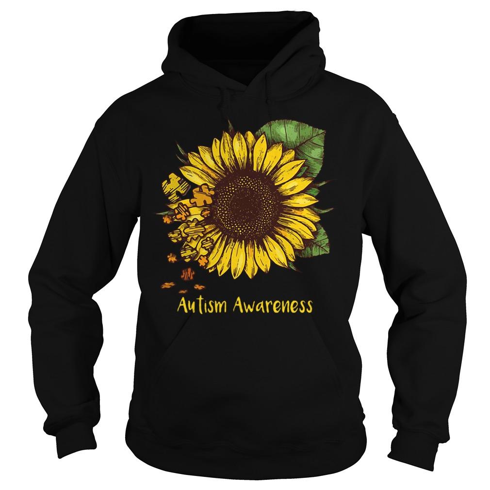 Sunflower autism awareness Hoodie