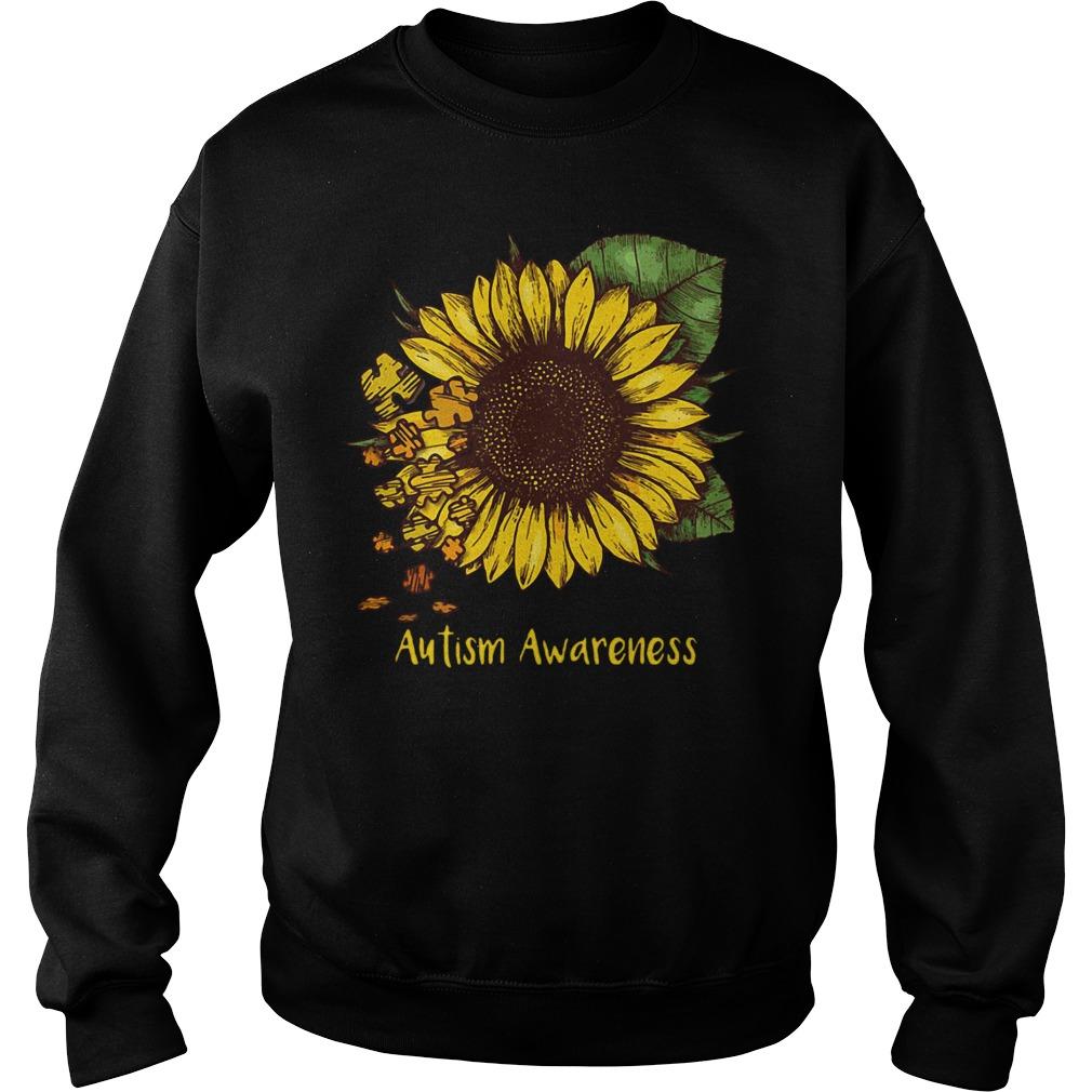 Sunflower autism awareness Sweater