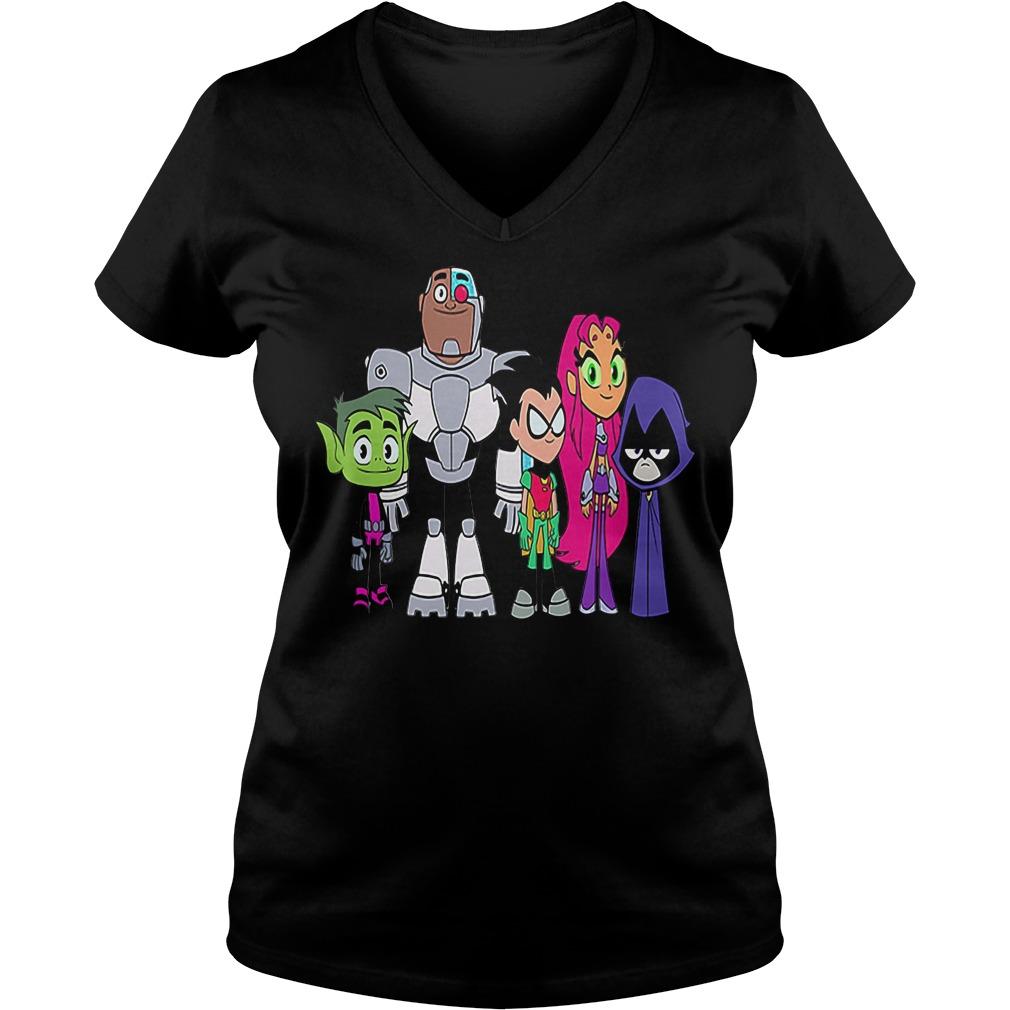 Teen titans go robin salt V-neck t-shirt