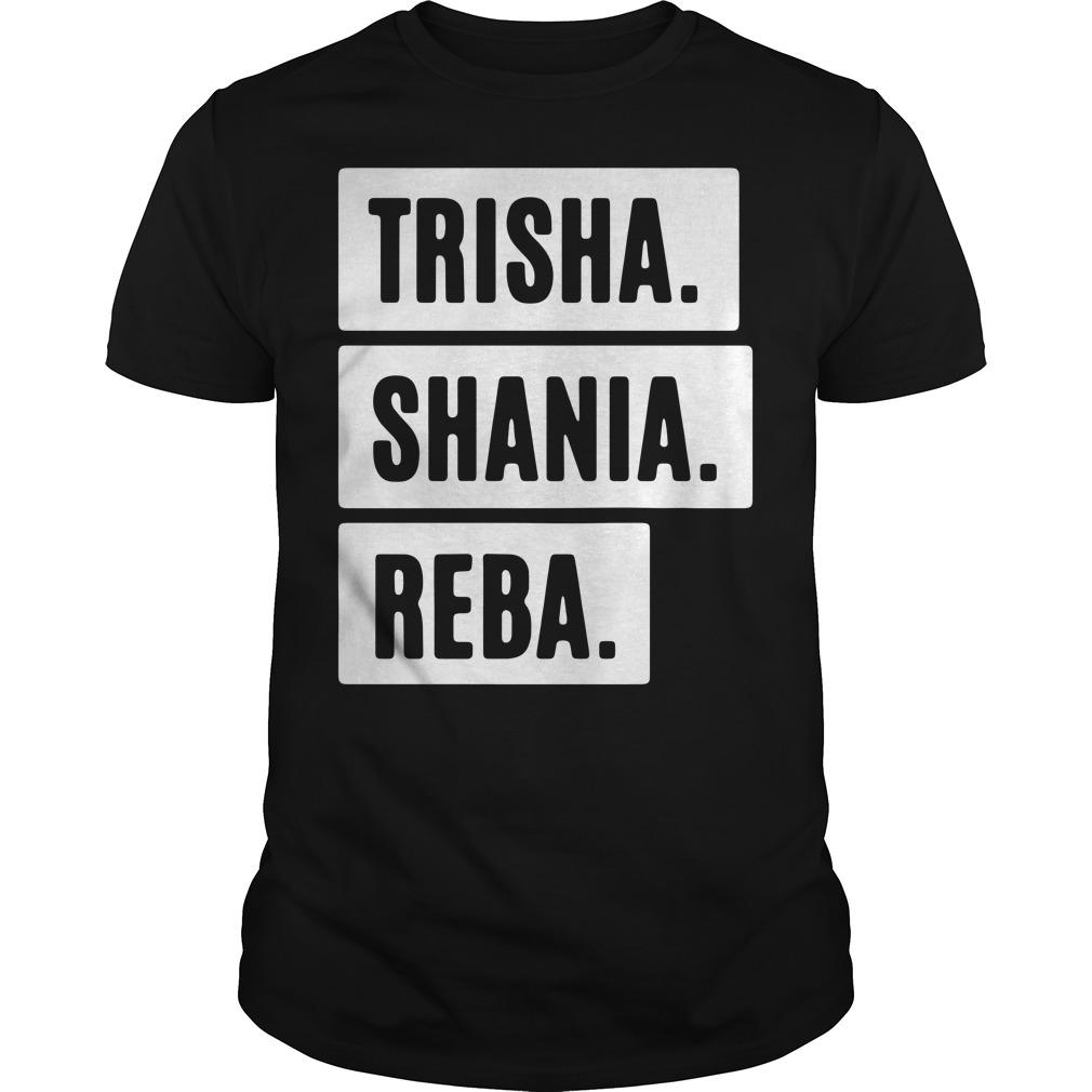 Trisha shania reba Guys shirt
