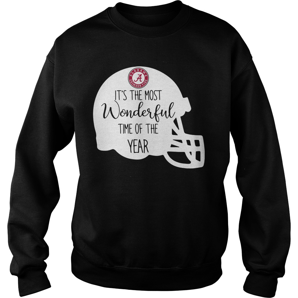Alabama Crimson Tide it's the most wonderful time of the year Sweater