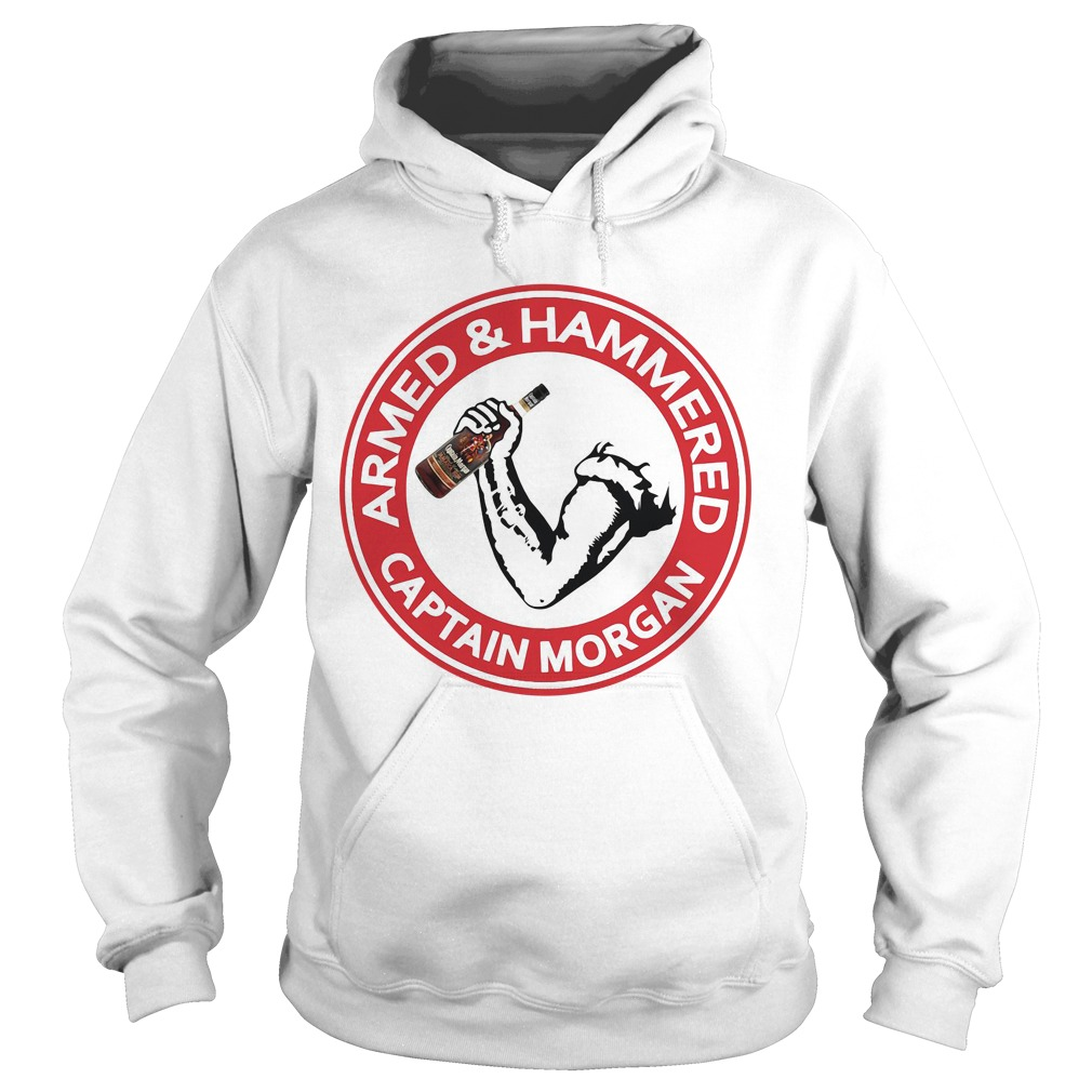 Armed and Hammered Captain Morgan Hoodie