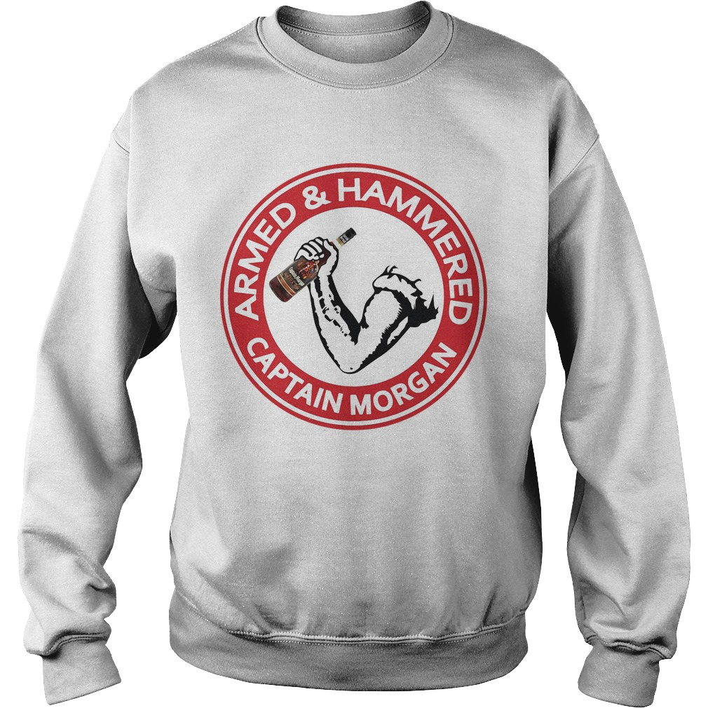 Armed and Hammered Captain Morgan Sweater