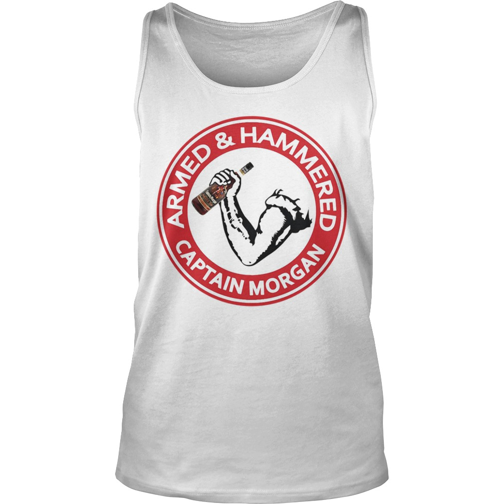 Armed and Hammered Captain Morgan Tank top