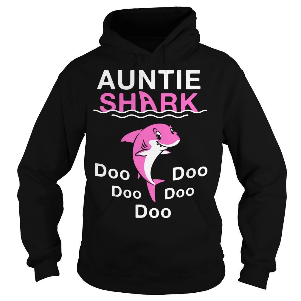 Auntie shark do-do-do-do-do Hoodie