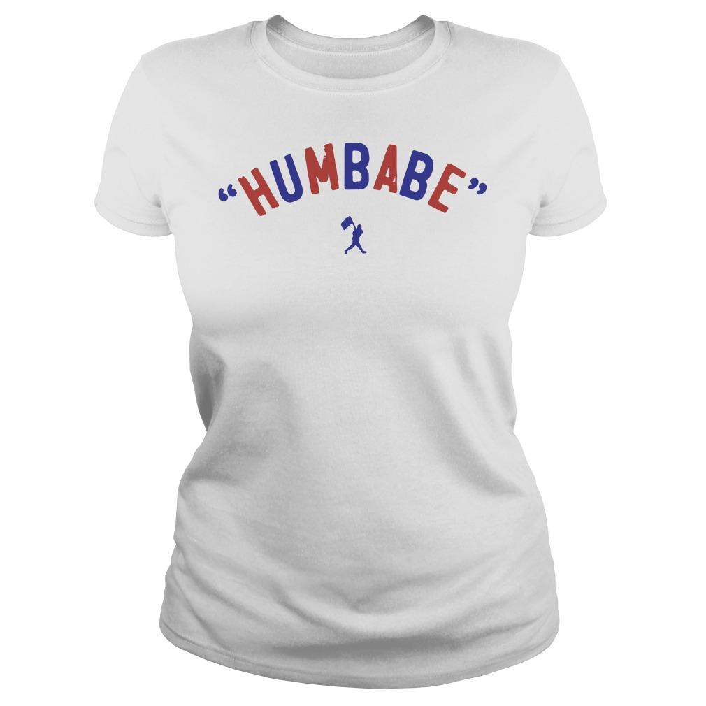 Baseball humbabe Ladies tee